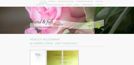 Hand-und Fußstudio Sabine Oesterle