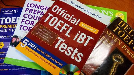 TOEFL対策 materials