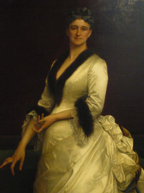 'Catherine Lorillard Wolfe' (a philanthropist and art collector), Alexandre Cabanel, 1876, The Metropolitan Museum of Art, picture taken by Nina Möller