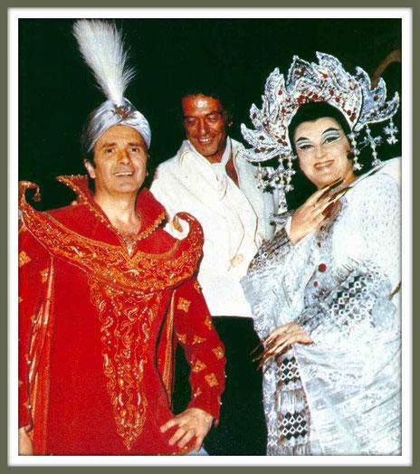 Calaf - TURANDOT - di G. Puccini - con B. Nilsson - (Macerata 1974)
