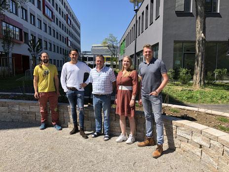 Spengler Lehrerteam, Städtische Berufsschule für das Spenglerhandwerk, Umwelt- und Versorgungstechnik, München