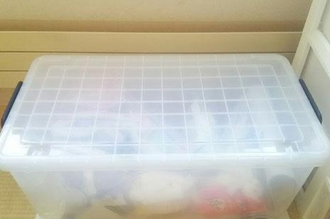 ソープカービングの石鹸を収納したケース