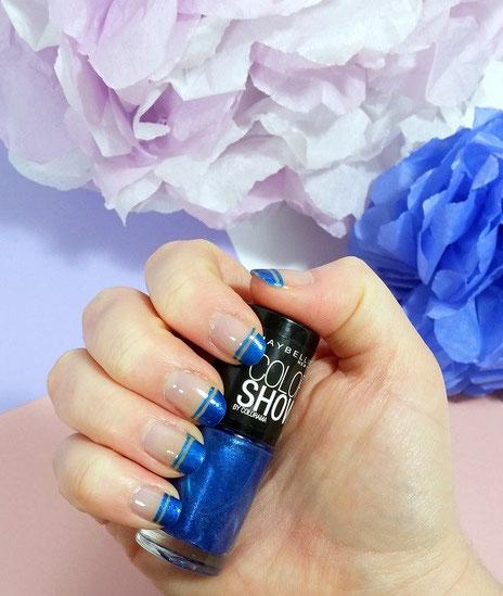 nailart-french-manucure-bleue-LesAteliersDeLaurene