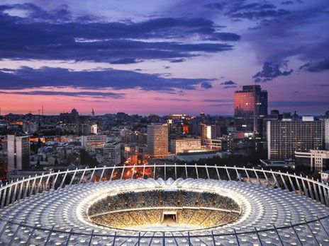 Olimpiysky stadium in Kiev