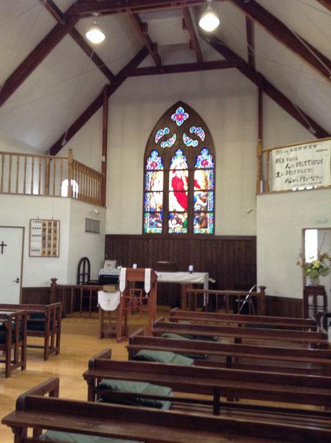 鹿児島復活教会礼拝堂
