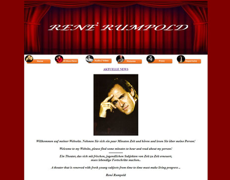 Official Website Renè Rumpold