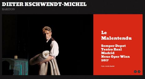 DIETER KSCHWENDT MICHEL - official website
