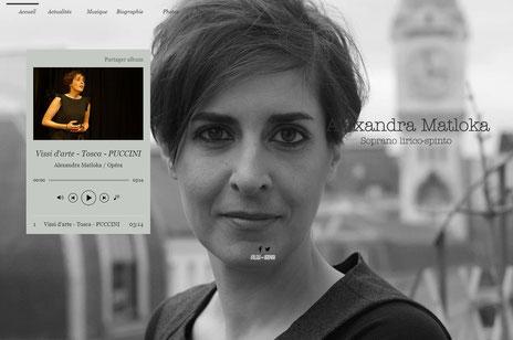 ALEXANDRA MATLOKA  Website