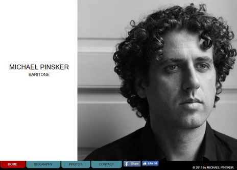 Website MICHAEL PINSKER