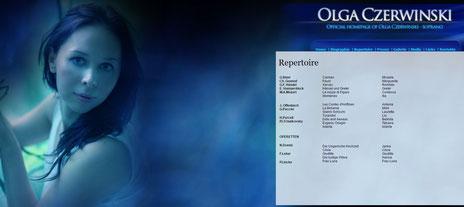 OLGA CZERWINSKI - official website