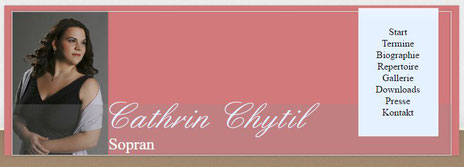 CATHRIN CHYTIL, Sopran   - WEBSEITE