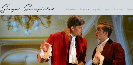 GREGOR EINSPIELER - official website