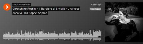Gioacchino Rossini - Il Barbiere di Siviglia - Una voce poco fa - Iza Kopec, Sopran