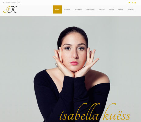 Isabella Kuëss - official website