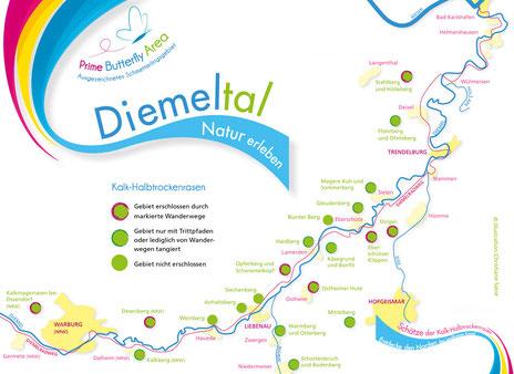 Diemeltal - Kalkmagerrasenflächen zwischen Warburg und Trendelburg | copyright: C. Sasse