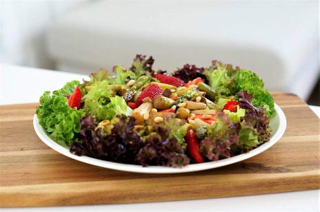 Fruchtiger Spargelsalat   clean, low carb & vegetarisch