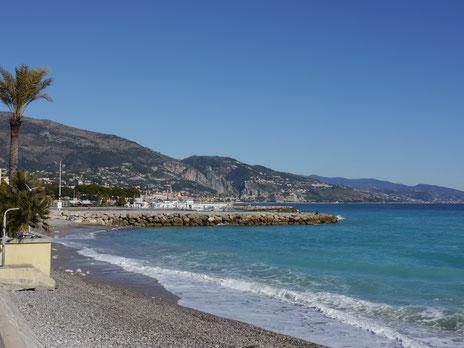 Gartenreise Frankreich: Menton am Mittelmeer