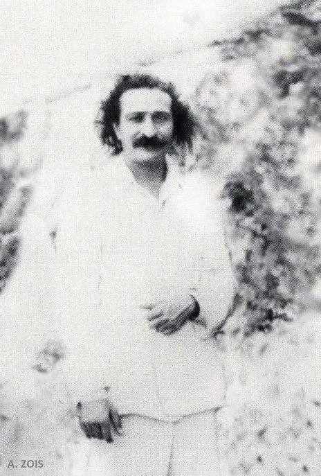 June 1932 : Meher Baba in China. Image cropped & edited by Anthony Zois