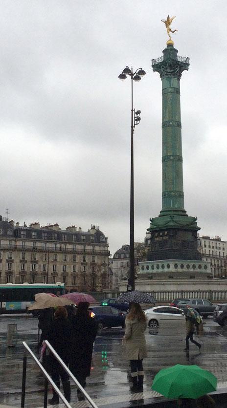paris place de la bastille - 2014 - Lyzzz