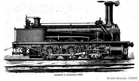 Locomotive Chemin de fer du midi Rivière-Basse Gascogne