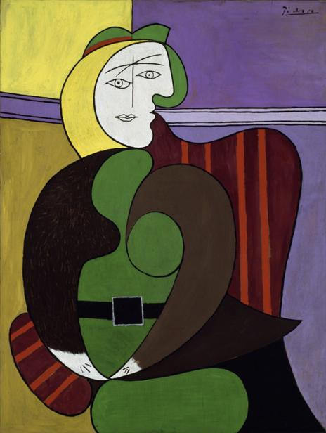 《赤い肘かけ椅子》1931年