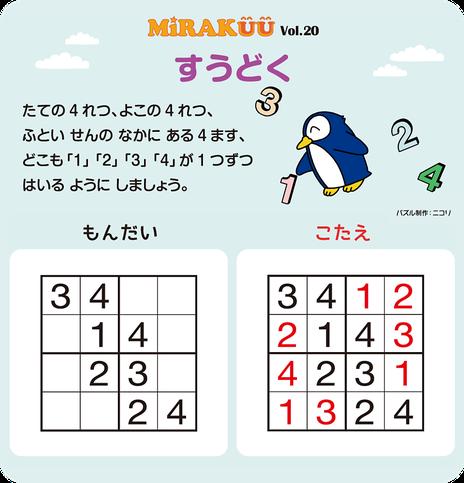 MiRAKUU vol.20「すうどく」