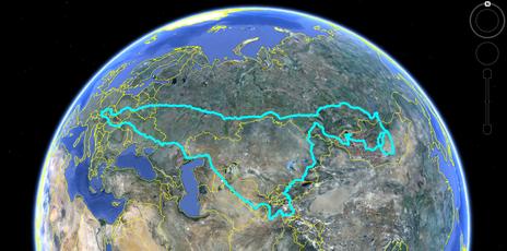 Reiseroute:  Österreich - Ungarn - Ukraine - Russland - Kasachstan - Usbekistan - Tadschikistan - Kirgisien - Kasachstan - Russland - Mongolei - Russland - Baltikum - Polen - Tschechische Republik