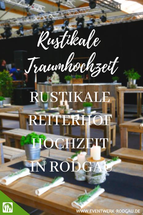 Rustikale Reiterhof Hochzeit in Rodgau
