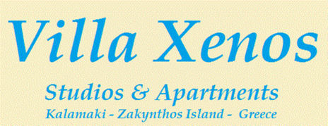 Villa Xenos , Kalamaki , Zakynthos , Greece