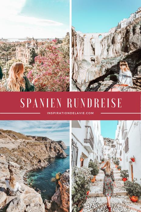 Spanien Rundreise – finde meine Tipps für eine Reise durch Andalusien und entdecke die Highlights im Süden Spaniens. Neben Málaga, Marbella, Sevilla und Granada wird dich das Flair des Landes beeindrucken. Erkunde historische spanische Orte und esse lecke