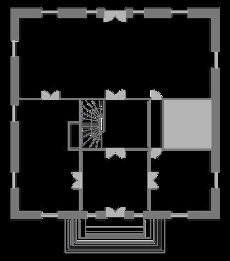 Grundriss Erdgeschoss Theater im Zimmer Hamburg