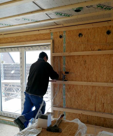 Innenausbaupaket  OSB-Platten für alle Wände und Decken