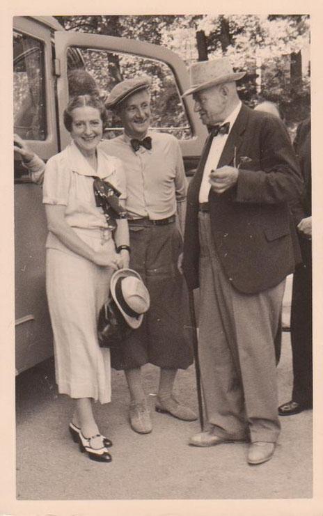 Henny Porten in der Esplanade von Bad Liebenstein - Archiv W.Malek