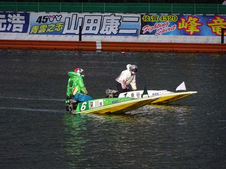 ボートレース平和島 ダービー優勝戦 深川真二 前づけ2コース