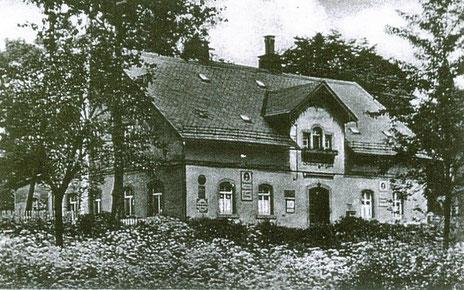 Das Restaurant um 1926