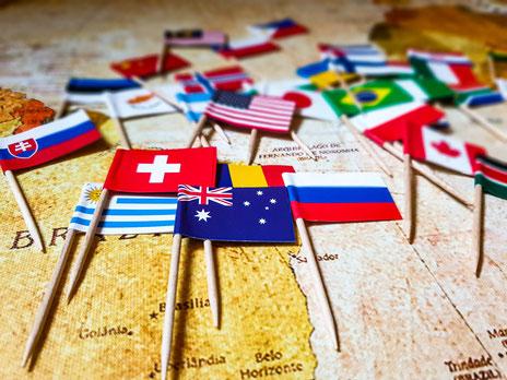 Auswahl Länder für Weltreise