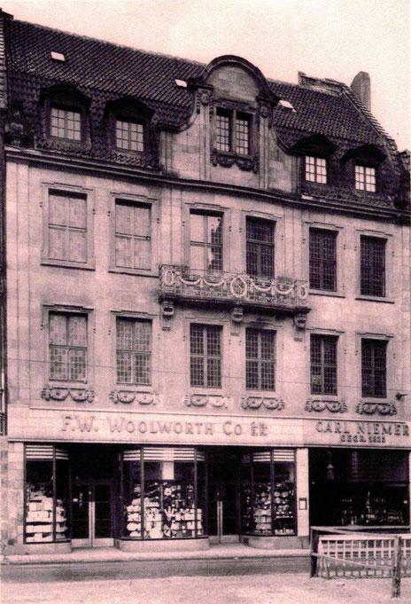 Salzstraße 57 vor dem beschriebenen Brand - Foto Familie Niemer