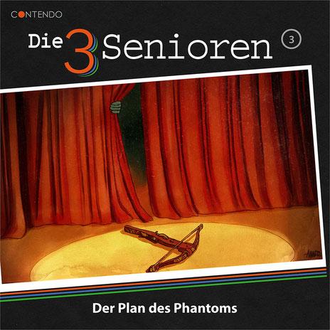 CD-Cover Die 3 Senioren - Der Plan des Phantoms