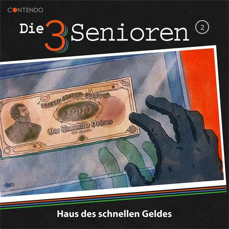 CD-Cover Die 3 Senioren - Haus des schnellen Geldes