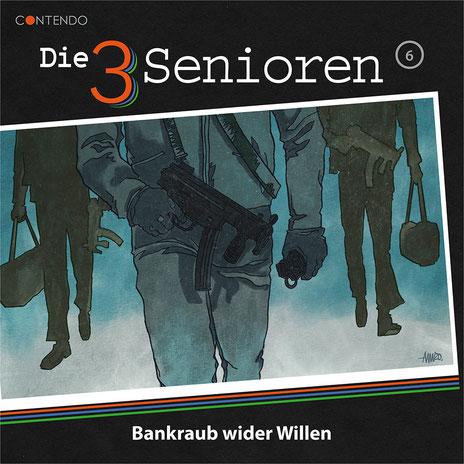 CD-Cover Die 3 Senioren - Bankraub wider Willen