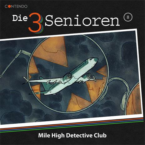 CD-Cover Die 3 Senioren - Mile High Detective Club