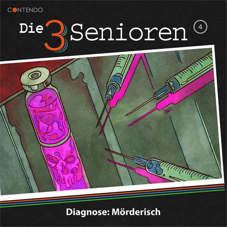 CD-Cover Die 3 Senioren - Diagnose: Mörderisch