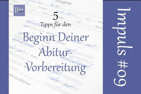 5 Tipps für den Beginn Deiner Abitur-Vorbereitung