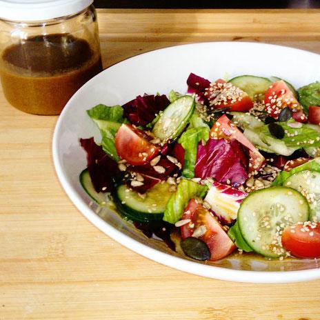 Salatdressing auf Vorrat leicht gemacht
