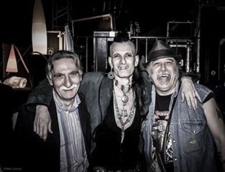 Luciano Duro, Willy DeVille e Mario Insenga