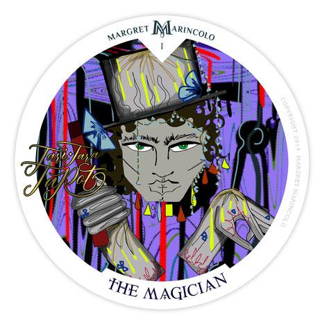 Tarotkarte Tageskarte - Der Magier