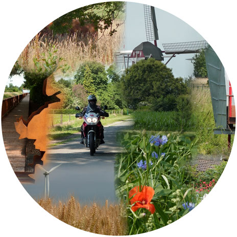 Motorradtouren im Westen- der Selfkant und seine Umgebung