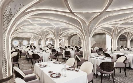 Seven Seas Grandeur Restaurant Compass Rose