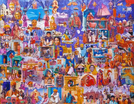 Colours of India ++++ zum Vergrössern anklicken