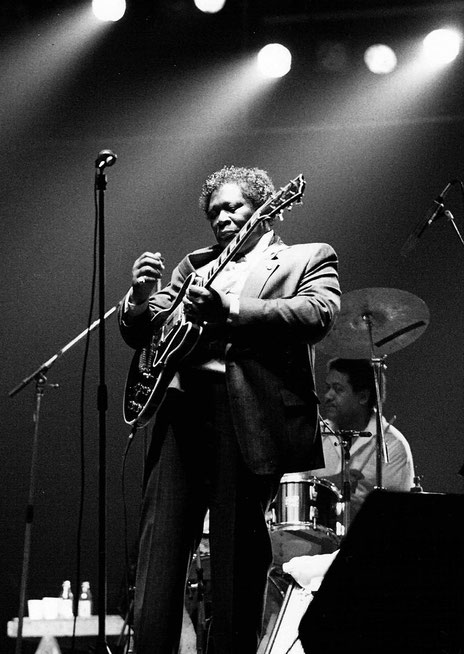 F. Antolín Hernandez, B.B. King, 2009. Wikimedia Commons, CC-BY-SA-2.0.